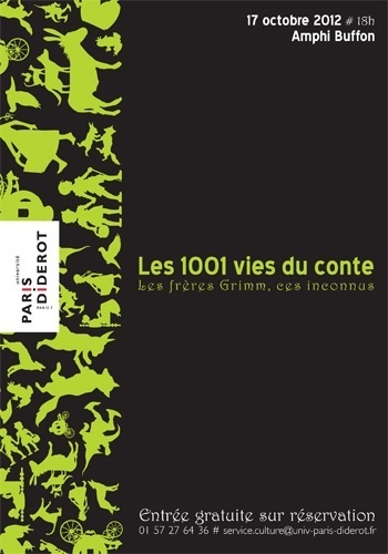 Les 1001 vies du conte - Les frères Grimm, ces inconnus