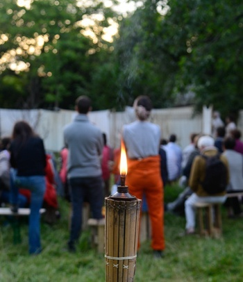 Clôture de saison: Ciné-jardin