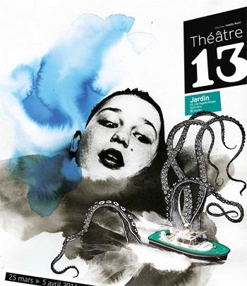 Conteurs au 13-Théâtre 13 Jardin